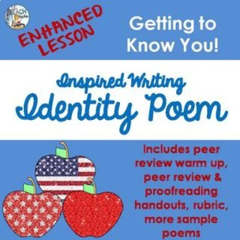 ENHANCED Identity Poem Lesson