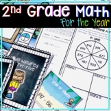 ENTIRE YEAR OF 2ND GRADE MATH UNITS MEGA BUNDLE COVERING ALL CCSS