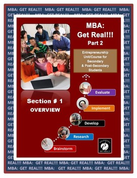"ENTREPRENEURSHIP ""Expanding Student Business: MBA Part 2"""