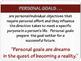 """ENTREPRENEURSHIP PPT - Tip #2: """"Set Goals"""""""