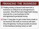 "ENTREPRENEURSHIP PPT - Tip #6: ""Start Up Costs & Financing"