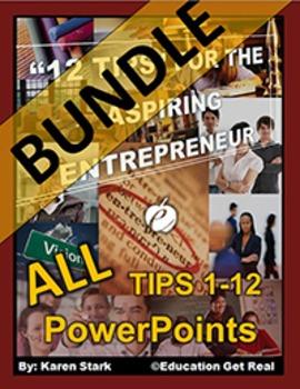 "ENTREPRENEURSHIP PPTS BUNDLE - ""ALL Chapters 1-12"""