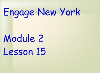 ENY Module 2 Lesson 15