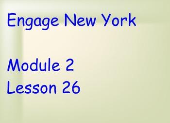 ENY Module 2 Lesson 26