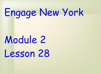 ENY Module 2 Lesson 28