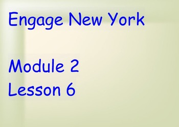 ENY Module 2 Lesson 6