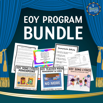 End of the Year Assembly Bundle