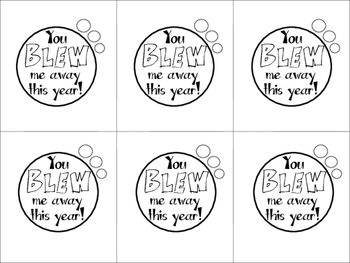 EOY Gift Tags for Bubbles