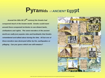 EPIC ANCIENT EGYPT - Pyramids, Sphinx & More - 25 engaging