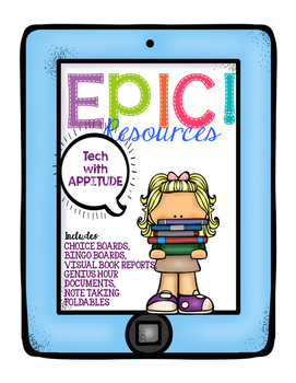 EPIC! Writing Resources to use with the EPIC! app