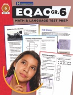 EQAO Grade 6 Test Prep - Both Math & Language Teacher Guide