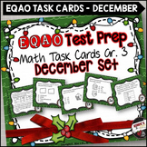 EQAO Math Task Cards - Grade 3 - December Set