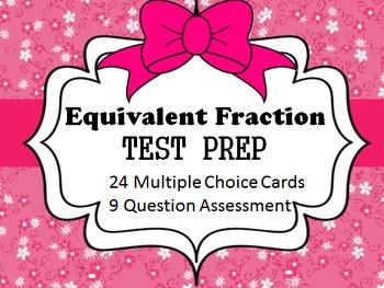 SCOOT EQUIVALENT FRACTION TEST PREP