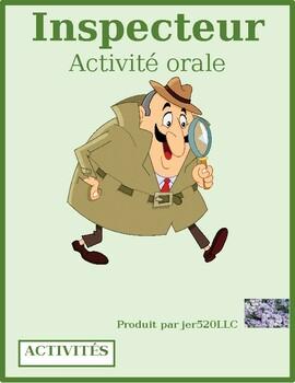 ER verbs in French Inspecteur 2 Speaking activity