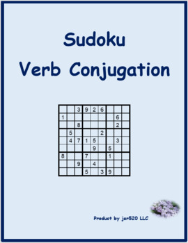 ER verbs in French Sudoku