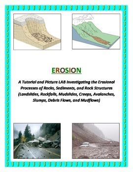 EROSION: Landslides, Mudslides, Rockfalls, etc. (COLORFUL