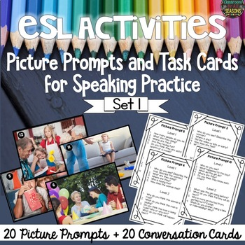 ESL Conversation Activities: Picture Prompts for Speaking