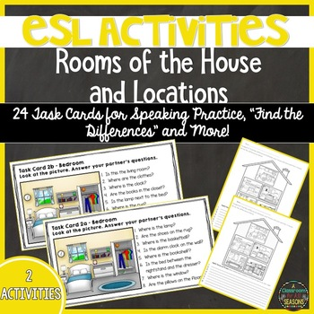 ESL Activities: Rooms of the House