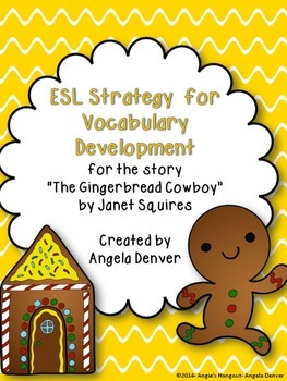 ESL Activity for Vocabulary Development for The Gingerbrea