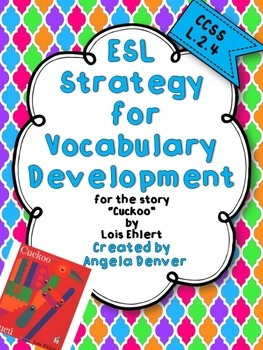 ESL Activity for Vocabulary Development for Cuckoo