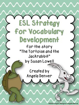 ESL Activity for lVocabulary Development for The Tortoise