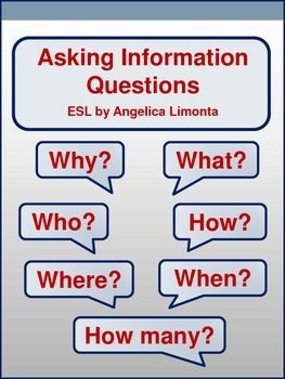 English: Asking Information Questions