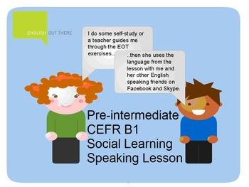 ESL B1 Lesson Plan and Worksheets - Will, going to, Presen
