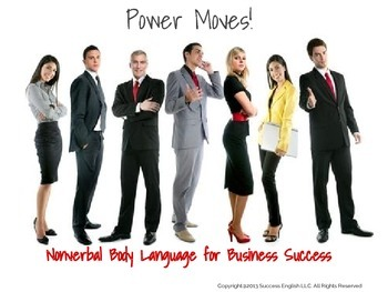 ESL Business English Class- Nonverbal Body Language for Bu