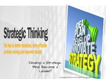 ESL Business English Class- Strategic Thinking
