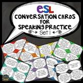 ESL Conversation Cards for Speaking Practice