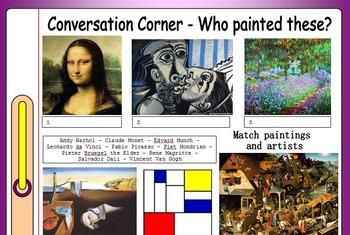 ESL Conversation Corner Bundle - 18 EFL conversation lesso