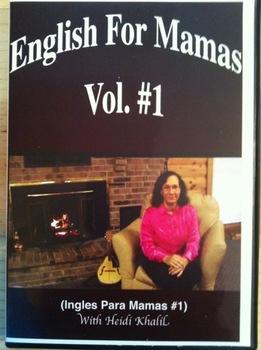 ESL  DVD: ENGLISH  FOR  MAMAS  VOL. #1