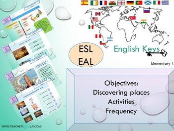ESL EAL introduction, hobbies Unit 1 lesson 4 full lesson