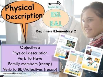 ESL/EAL my life (physical description) Unit 2 lesson 2 ful