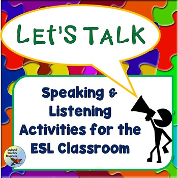 ESL EFL Listening and Speaking Communication Activities
