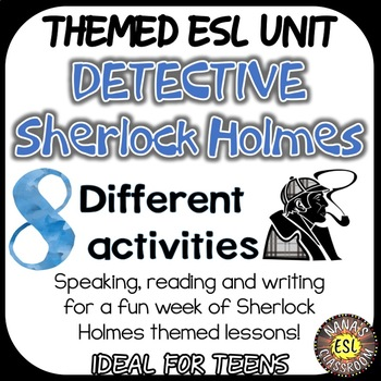 FACTS ABOUT SHERLOCK HOLMES (ESL): Reading, Vocabulary lea