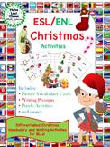 ESL/ENL Christmas Vocabulary Activities