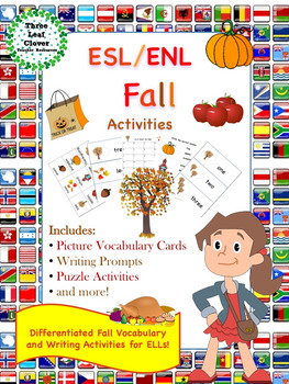 ESL/ENL Fall Vocabulary Activities