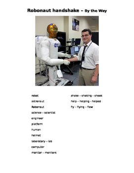 ESL/ESOL, STEM, robot, astronaut, technology, Internationa