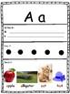 Alphabet Worksheets - (ESL / EFL / ELD) - NO PREP - Letter