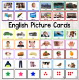 English Word Cards ESL ELL