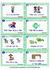 ESL Grammar Cards: Changing sentences from the positive to