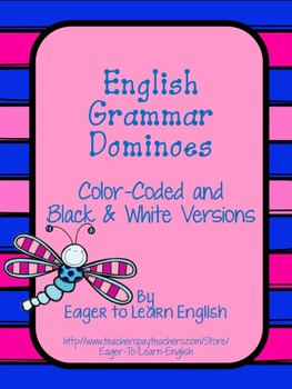 ESL Grammar Dominoes