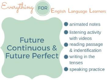 ESL Intermediate: Future Continuous- Future Perfect
