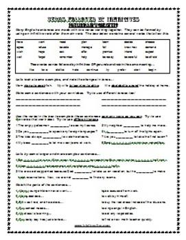 ESL Lesson Plan & Worksheets (Print) - Infinitives 1