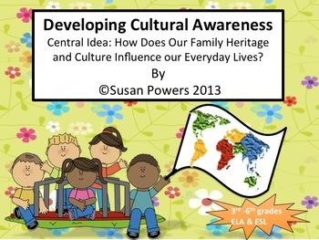 ESL Literacy Activity Developing Cultural Awareness