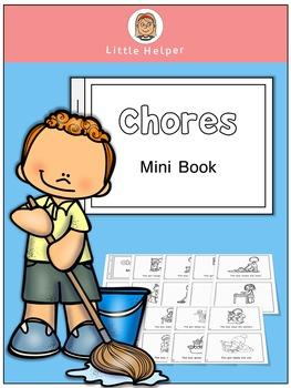 ESL  Mini Book - Chores