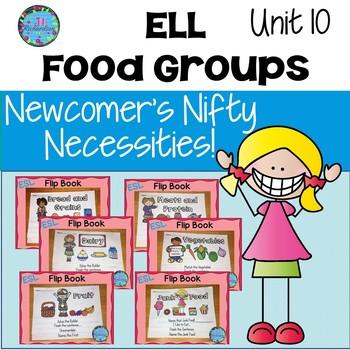 ESL Vocabulary!  Food Groups Bundle