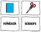 ESL Newcomer School Vocabulary Activities