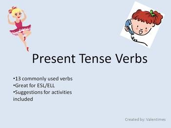 ESL Present Tense Verbs
